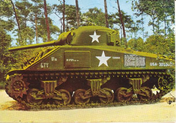 M4 sherman cookie overloon ortona